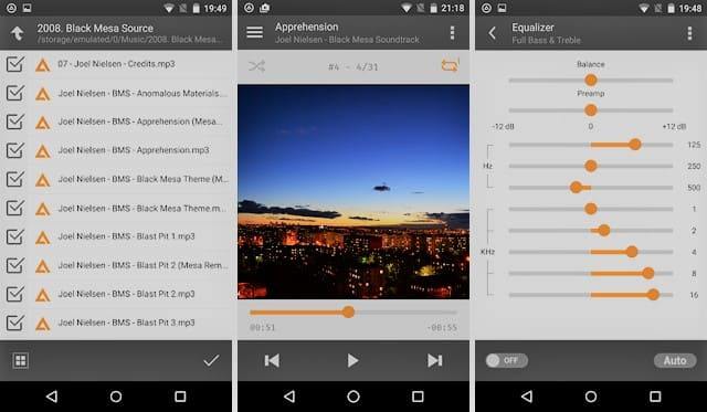 Android версия Aimp
