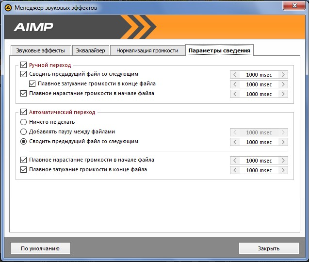 Скачать AIMP для Windows XP бесплатно